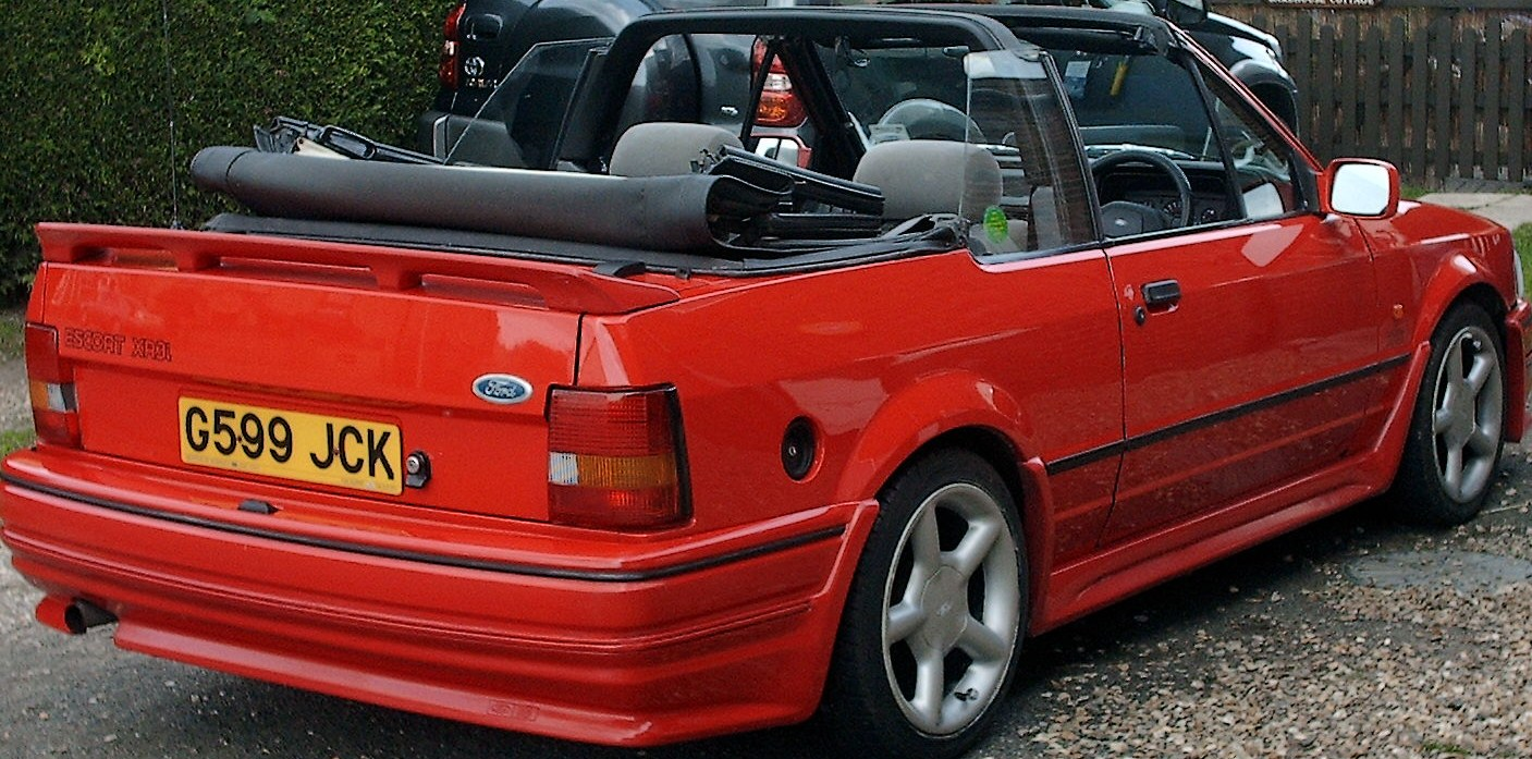 ford escort xr3i mfi 1 6 cabriolet 1989 garage system escort cabriolet club. Black Bedroom Furniture Sets. Home Design Ideas