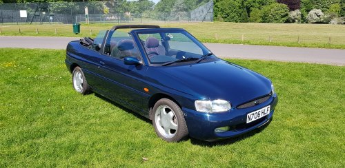 ford escort cabrio forum