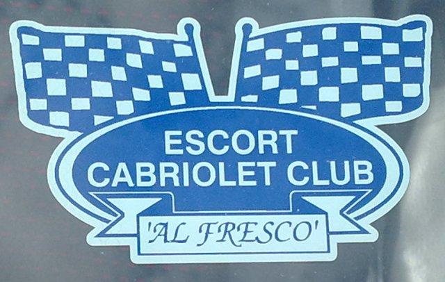 Club Window Sticker